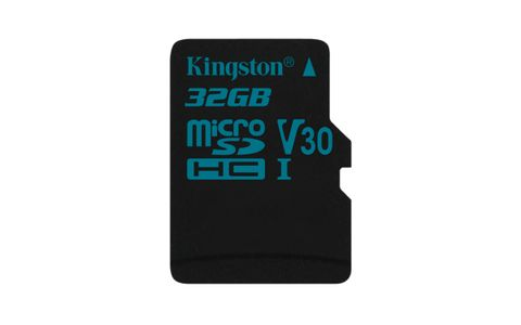 KINGSTON 32GB microSDHC Canvas Go 90/45 U3 UHS-I V30 Single Pack W/O Adptr (SDCG2/32GBSP)