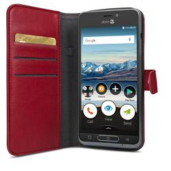 DORO WALLET CASE 8035 RED (7457)