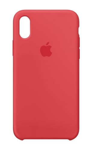 APPLE IPHONE X SILICONE CASE RED RASPBERRY ACCS (MRG12ZM/A)