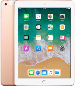 "APPLE iPad 9.7"" Gen 6 (2018) Wi-Fi + Cellular, 128GB, Gold (MRM22KN/A)"