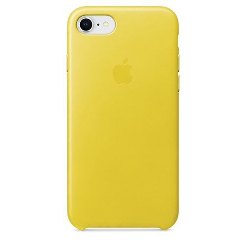 APPLE iPhone 8/7 Leather Case - Yellow (MRG72ZM/A)