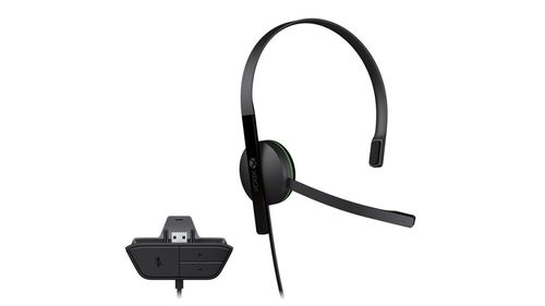 MICROSOFT MS Xbox One Chat Headset EN/ FR/ DE/ IT/ PL/ PT/ RU/ ES EMEA (S5V-00015)