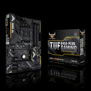 ASUS TUF B450-PLUS GAMING B450 SND+GLN+U3.1+M2 SATA 6GB/S DDR4 IN (90MB0YM0-M0EAY0)