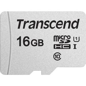 TRANSCEND Memory card Transcend microSDHC USD300S 16GB CL10 UHS-I U3 Up to 95MB/S (TS16GUSD300S-A)