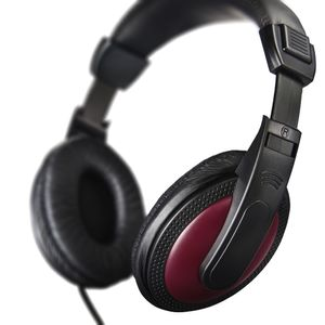 HAMA Hörlur Basic4Music Röd Over-Ear 2m Kabel 3, 5/ 6, 35mm (00184012)