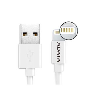 A-DATA Lightning 2M USB (White) (AMFIPL-200CM-CWH)