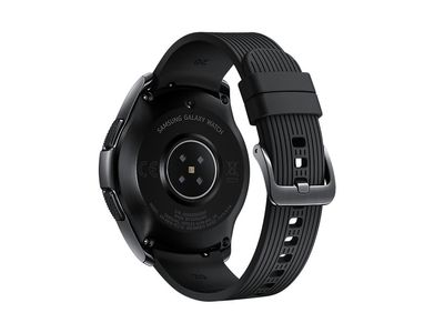 SAMSUNG Galaxy Watch 42mm, Black Smartklokke,  R815 (SM-R815FZKANEE)