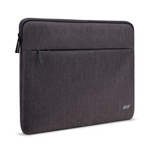 ACER Chromebook 14inch Protective Sleeve - Dual Tone Dark Gray with front pocket - BULK PACK (NP.BAG1A.294)