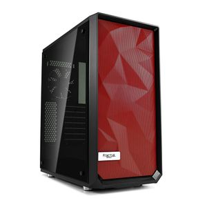 FRACTAL DESIGN Meshify C - Red Front (FD-ACC-MESH-C-FFILT-RD)