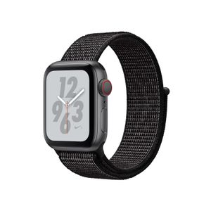 APPLE Watch Nike+ Series 4 GPS + Cellular 40mm Space Grey Aluminium Case with Black Nike Sport Loop (MTXH2KS/A)