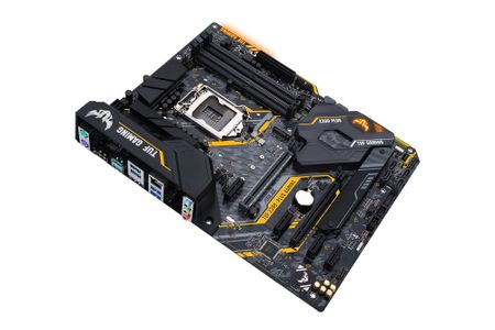 ASUS TUF Z390-PLUS GAMING, S-1151 Hovedkort,  ATX, Z390, DDR4, 2xPCIe-x16,  M.2 (90MB0XW0-M0EAY0)