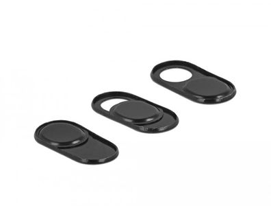 DELOCK Webcam Cover for Laptop, Tablet and Smartphone 3 pack (20652)