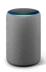 AMAZON Echo Plus, Ledning & Trådløs, 3.5mm/ Bluetooth,  Grå (B07CT3VM3H)