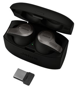 JABRA Evolve 65t Titanium Black 370 MS (6598-832-109)