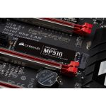 CORSAIR Force Series MP510 480GB M.2 SSD PCIe Gen3 x4, M.2 NVMe, up to 3480/ 2000MB/ s read/ write (CSSD-F480GBMP510)