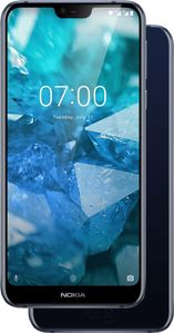 NOKIA 7.1 (2018) 32GB blue Dual-SIM Android 8 Smartphone mit Zeiss-Kamera (11CTLL01A07)