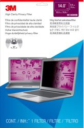 3M High Privacy Filter for 14i Widescreen Laptop (HC140W9B)