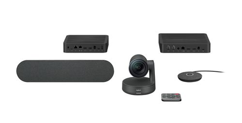 LOGITECH RALLY WEBCAM - BOLIDE - IN-HOUSE/ EMS - EMEA - BLACK - BUSINESS - USB - EU (960-001218)