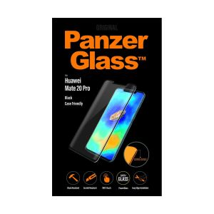 PanzerGlass Screen Protection Sort ramme, Case Friendly, for Huawei Mate 20 Pro (5324)