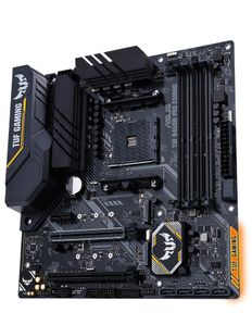 ASUS TUF B450M-PRO GAMING AM4 B450 MATX SND+LAN+U3.1+M2 SATA6 DDR4  IN CPNT (90MB10A0-M0EAY0)