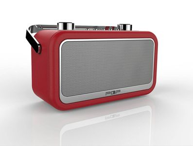 POP VINTAGE, BT dab+/fm, red (POP100263)