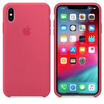 APPLE IPHONE XS MAX SILICONE CASE HIBISCUS ACCS (MUJP2ZM/A)