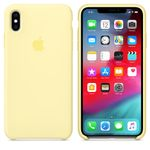 APPLE IPHONE XS MAX SILICONE CASE MELLOW YELLOW ACCS (MUJR2ZM/A)