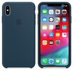 APPLE IPHONE XS MAX SILICONE CASE PACIFIC GREEN (MUJQ2ZM/A)