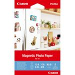 CANON Magnetic Photo Paper MG-101 - Skinnende - 13 millioner - 100 x 150 mm - 670 g/m² - 178 pund - 5 ark magnetic photo paper (3634C002)