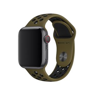 APPLE 40mm Flak/ Black Nike Sport Band-S/ M&M/ L (MTMV2ZM/A)