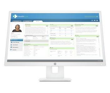 HP Healthcare Edition HC271 68.5cm 27inch QHD Clinical Review Monitor Sanitization Head Only ohne Standfuss DICOM Compl. HDMI DP VGA (3ME70AA#ABB)