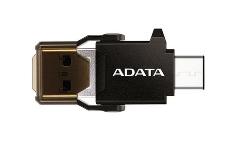 A-DATA ADATA Adapter USB-C OTG READER (ACMR3PL-OTG-RBK)