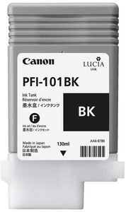 CANON PFI-101BK ink cartridge black standard capacity 130ml 1-pack (0883B001)