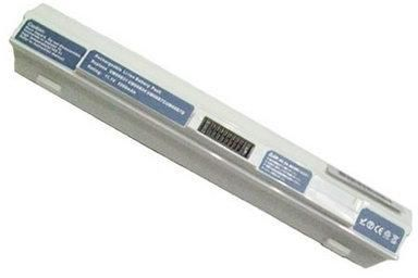 Acer Batteri til bærbar PC - 1 x litiumion 6-cellers 5200 mAh - hvit - for Aspire ONE 751, 751H, 751h -52 (BT.00607.077)