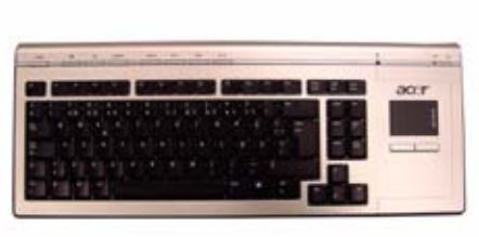Acer KEYBD.WRLS.UK.W/ TP.VISTA.SI (KB.RF404.002)