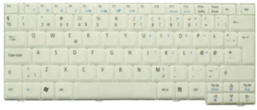 Acer KEYBOARD.GERMAN.WHITE (KB.TCY07.008)