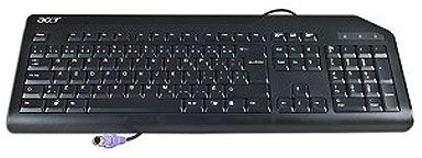 Acer KEYBD.PS2.AR-ENG.104.BLK.WO/ EK (KB.PS203.288)