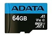 A-DATA 64GB UHS-I CL10 A1 V10 (AUSDX64GUICL10A1-R)