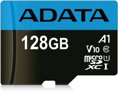 A-DATA 128GB UHS-I CL10 A1 V10 (AUSDX128GUICL10A1-RA1)