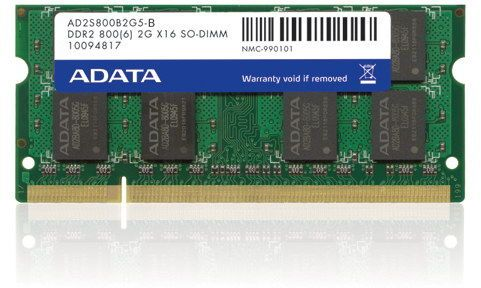A-DATA 2GB SO-DIMM DDR2 800 200pin (AD2S800B2G6-B)