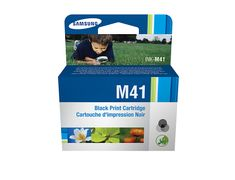 Samsung INK-M41P - Svart - original - blister - blekkpatron - for SF-370, 375TP