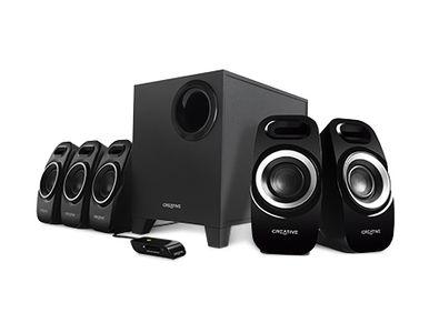CREATIVE INSPIRE T6300 5.1 SPEAKER BLACK                            IN SPKR (51MF4115AA000)
