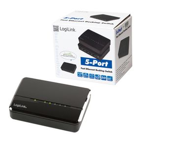 LOGILINK Desktop Switch Logilink 5-port FE 5x RJ45 (NS0103)