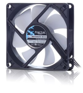 FRACTAL DESIGN FD Silent Series 80mm Silent Series R3 new (FD-FAN-SSR3-80-WT)