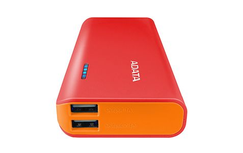 A-DATA ADATA PT100 Power Bank 10000mAh Red/ Orange (APT100-10000M-5V-CRDOR)
