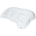 Trykaflastende pude, Levabo  All Up Back & Seat, 27x45x5cm,  hvid