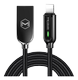 MCDODO King Seires Auto Disconnect Lightning Cable 1.2m Black