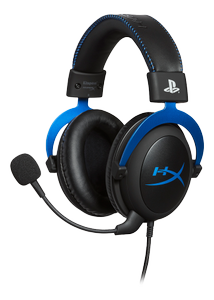KINGSTON HyperX Cloud Gaming Headset-Blue for PS4 (HX-HSCLS-BL/EM)