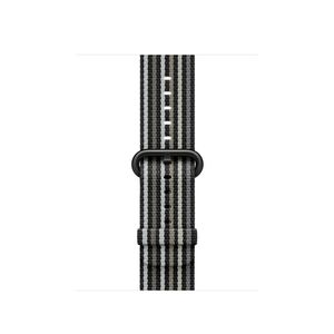 APPLE IWATCH38MM BLACK STRIPE WOVEN NYLON ACCS (MRHC2ZM/A)