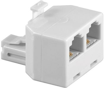 MICROCONNECT Y-ADAPTER RJ12-2xRJ12 M/F 6P (MPK301)